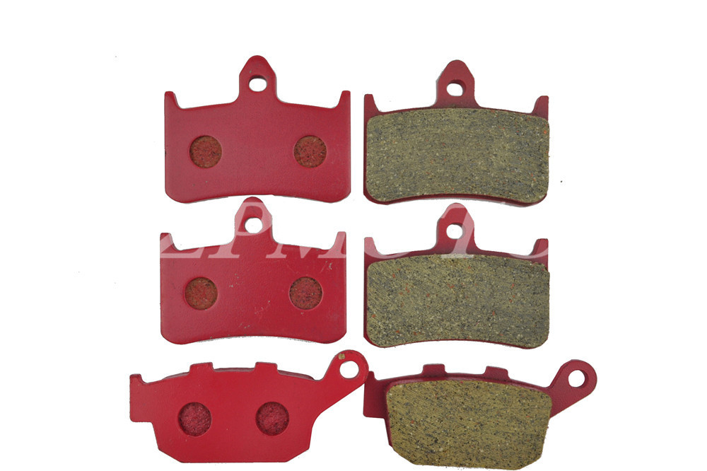 Передняя+задняя СВ400 96-97 СМП 250 керамический углерода дорожный тормозные колодки высокого качества