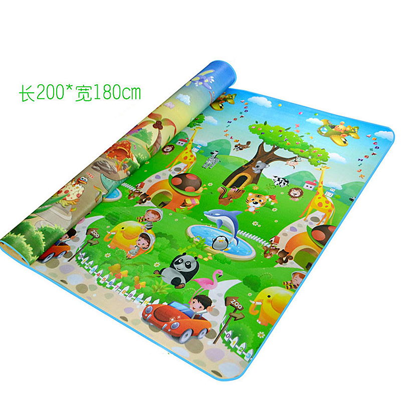 Infant Baby Crawling Pad EPE Baby Gym Activity Playmat Activity Rug For Living Room Large Carpet Climbing Floor Mat Playmat