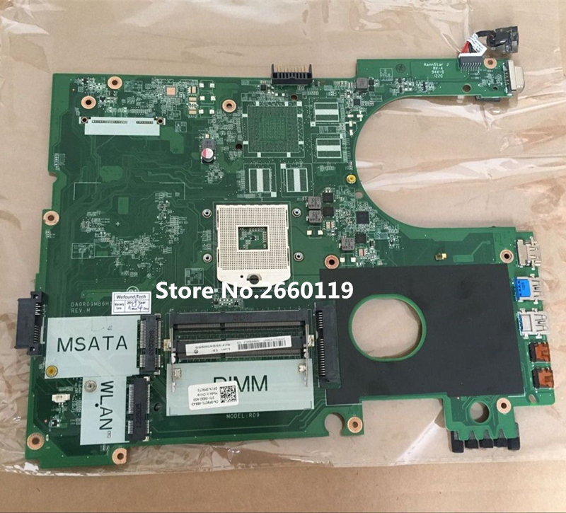High quality laptop motherboard for 5720 F9C71 0F9C71 CN-0F9C71 DA0R09MB6H1 REV.H Fully tested original for dell 0x836m x836m poweredge r510 8 bay sas riser board backplane cn 0x836m fully tested