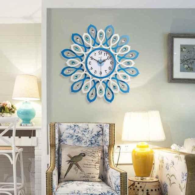 Geekcook European Creative Knot Tree Wall Clock Fashionable Living ...
