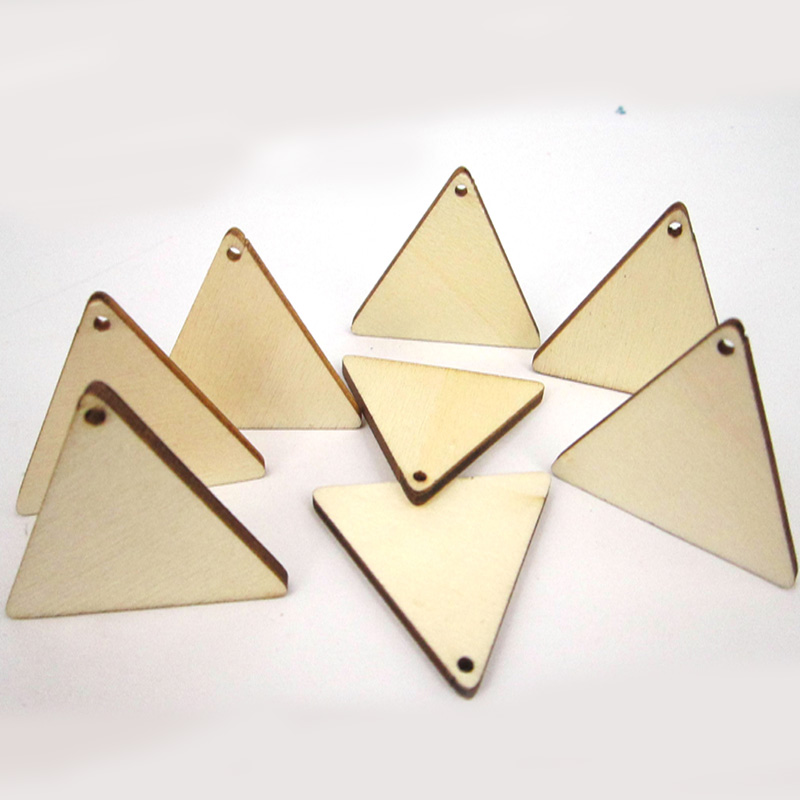 Dedicated 10-15pcs Diy Jewelry Making Wooden Earring Pendant Square Oval Triangle Charms Earring Findings Earrings