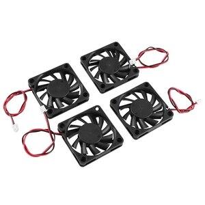 Image 3 - Accessoires dimprimante 3D 6010 24V extrudeuse roulement à huile ventilateur de refroidissement 4 pièces pour imprimante 3D, Machine de gravure, découpeuse