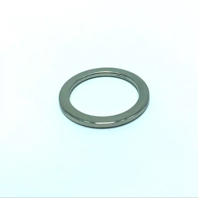 1.5 Inch Flat Cast O Rings, Shiny Nickel Finish -in Bag Parts ...