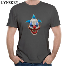 LYNSKEY 2017 Fashion Male T Shirts Round Collar Cotton Tops Shirt Men's Summer Autumns Custom Casual Tee Shirts Mask Clothing