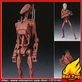 "100% Original BANDAI Tamashii Nations S.H.Figuarts (SHF) Action Figure - Battle Droid Geonosis Color from ""Star Wars"""