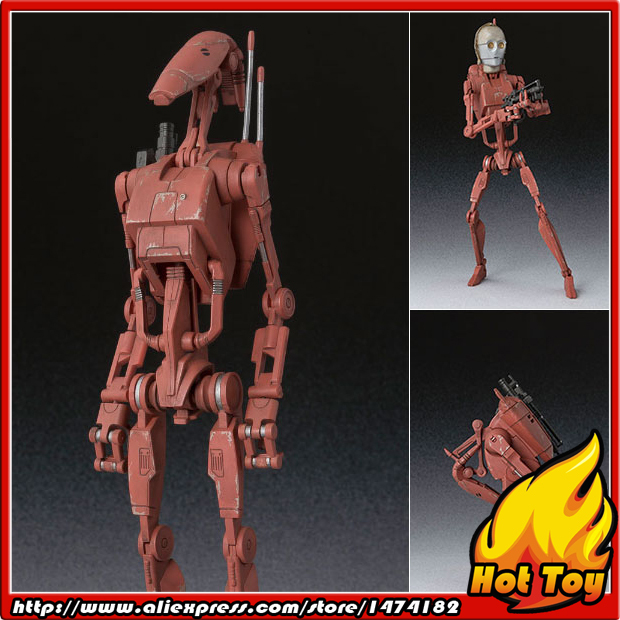 """100% Original BANDAI Tamashii Nations S.H.Figuarts (SHF) Action Figure - Battle Droid Geonosis Color from """"SW"""""""