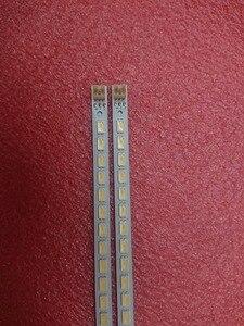 Image 2 - Светодиодная лента для подсветки Toshiba 46SL412U, 2 шт./Лот, 72 светодиода, 46SL412U, 46 вниз, фонарь 2011SGS46 5630 72 LTA460HJ15 46FT5453