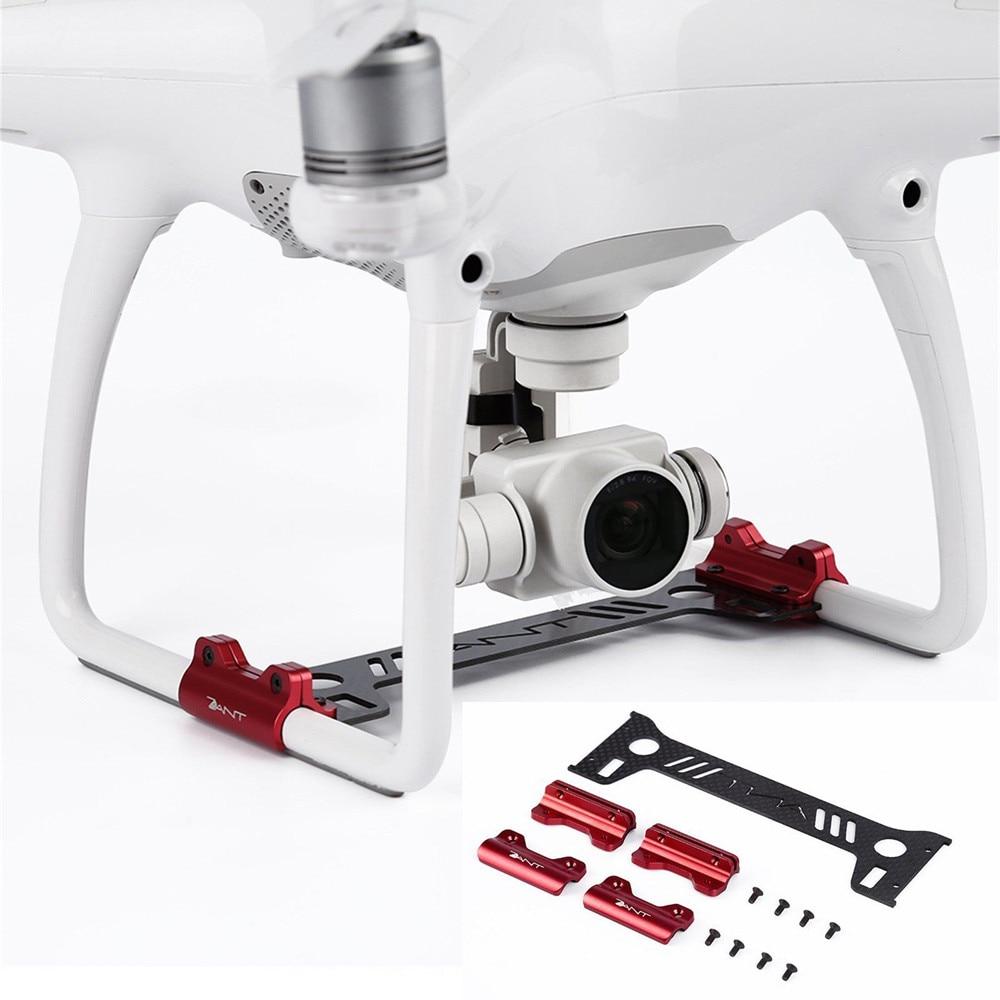 Carbon Fiber Kamera Gimbal Guard+Halter Für DJI Phantom 4 Landing Protector Gear