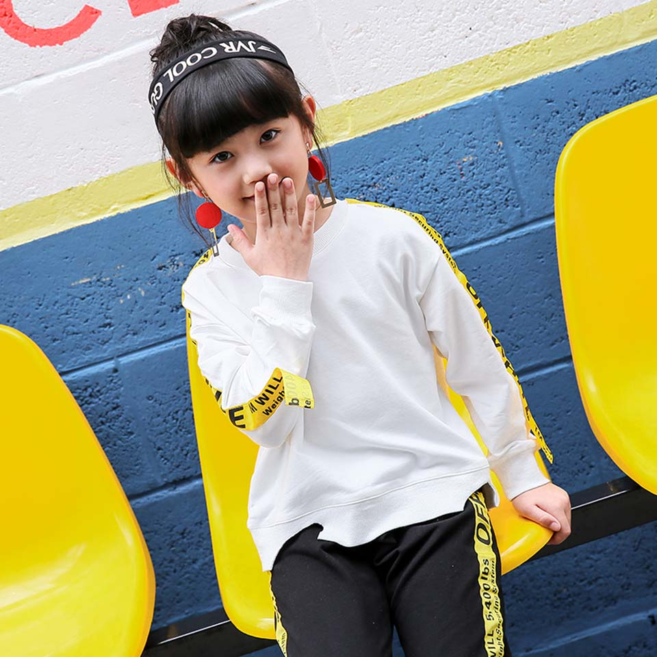 цены New Arrivals Spring Autumn Children Clothing Set Long Sleeve Cotton Shirt + Full Pants 2PCS Girl Set Suit Baby Girls Clothing