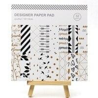 YPP ремесло 32 шт Фольга Прекрасный шаблон веленевая писчая бумага для скрапбукинга счастливый планировщик/изготовление карт/Журнал проект