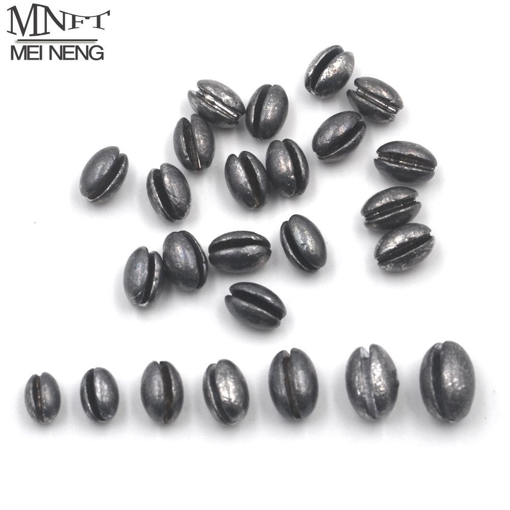 1B to 7B Top Grade Carp Fishing Split Shot Oval Shaped Fishing Lead Sinkers Weight Combo Fishing Lure Accessories Good Quality copper bullet sinker weight fast sinking for texas rig bass fishing accessory lead sinkers replacement diy lure bait accessories