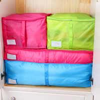 Organizador de armario Oxford para el hogar, contenedor de colcha grande, a la moda, iridiscente, S, M y L