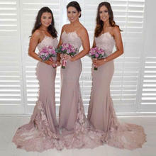 Buy bridesmaid dress nude and get free shipping on AliExpress.com 218b4cc920a9