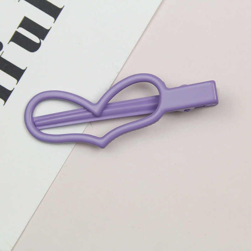 Шпильки с сердечками детские заколки для волос для маленьких детей булавки для волос клип декоративные волосы зажимные приспособления милый цвет металлическая заколка