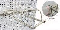 Dish Bowl Plates Holder Display Rack Supermarket Shelf Hook Hanger Plate Shelf Accessories