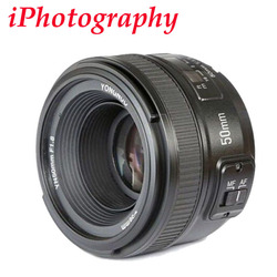 YONGNUO YN 50mm f1.8 AF Lens YN50mm Diafragma Autofocus Groot Diafragma voor Nikon DSLR Camera als AF-S 50mm 1.8G, YN35mm F2.0 F2N