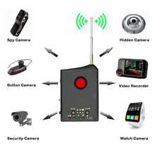Full-range RF Wireless Anti Spy Signal Radio Detector Camera Auto-detection Tracer Audio Bug Finder 1MHz-6.5GHz Range Adjustable