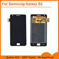 Черный для Samsung Galaxy S2 SII GT-i9100 i9105 ЖК-Дисплей С Сенсорным Экраном Дигитайзер Сенсорная Панель Полный Ассамблеи, Бесплатная доставка