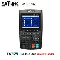 SATXTREM Satlink WS 6916 DVB S/S2 HD цифровой спутниковый Finder MPEG 2 MPEG 4 спутниковый метр Satfinder DVB S2 Satlink ws 6916