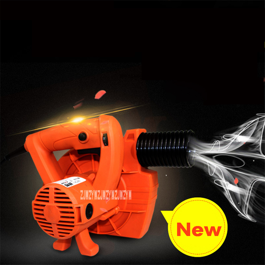 220V 1280W Blowing And Suction Dual Purpose Cleaning Tools Industrial Dust Collector Blower Wall Grinder Universal Suction Fan 15l industrial dust collector 1200w electric dust collector for dry and wet