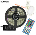 DUMVOIN IP65 5M 300leds SMD 5050 RGBW Led Strip for Christmas/Wedding/Birthday Party+40 Keys Controller+12V 5A Power Supply