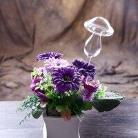 Mushroom Shape Self Watering Probes Hand Blown Glass