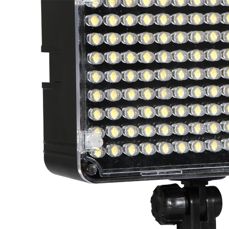AL-H160 LED Lightweight Powerful Video Panel Photo on-camera Led Light Bulb with CRI 95+ 160 Bulbs Video Production Equipment