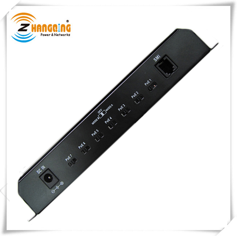Image 4 - 8port Gigabit Ethernet Switch Passive POE 1000Mbps Switch  power over ethernet for UBNT / Mikrotik / 802.3af or 24V 48V devices-in CCTV Accessories from Security & Protection