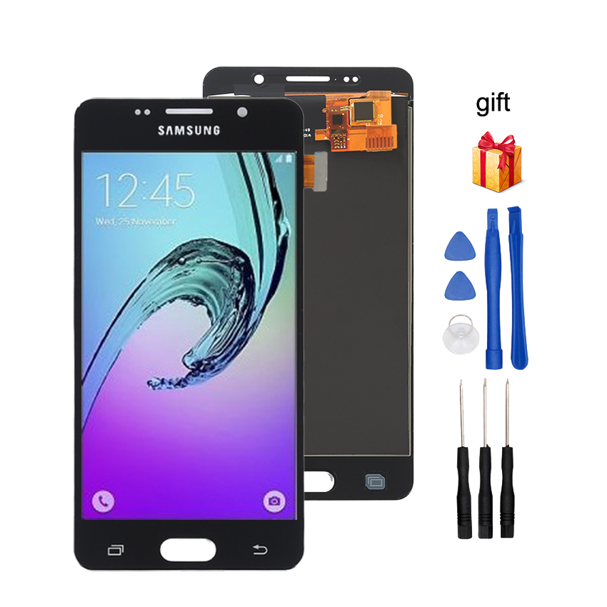 Image 4 - AMOLED For SAMSUNG Galaxy A5 2016 A510 LCD Display Touch Screen Phone Parts For Samsung A510 Screen LCD Replacement-in Mobile Phone LCD Screens from Cellphones & Telecommunications