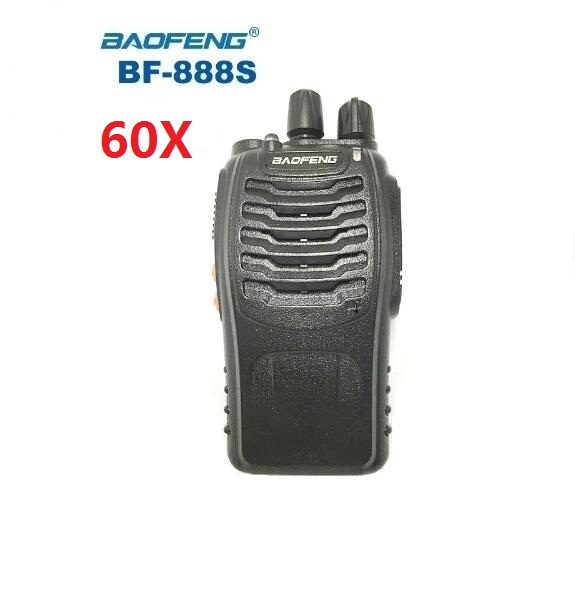 50 pcs baofeng bf 888s walkie talkie bf 888s uhf400 470mhz hamportatilcb radio comunicador baofeng 888