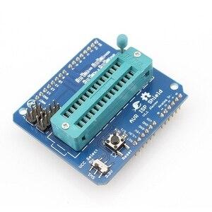 Elerow AVR ISP щит для Arduino UNO, макетная плата, загрузка загрузчика, сжигание ATmega328P AVR ISP, программатор, Набор для творчества