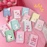 Limit Shows Cute Cat Unicorn Portable Notepad With a Small Fresh Coil this Cartoon Notebook Stationery Small Book Student Gift