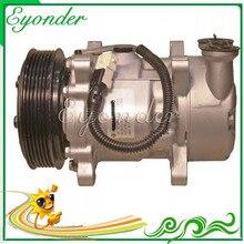 AC Compressor de Ar Condicionado Bomba De Refrigeração para Peogeot 106 II 206 para Citroen Xsara Picasso Chanson 6453FS CNK030 6453CN 6453EH