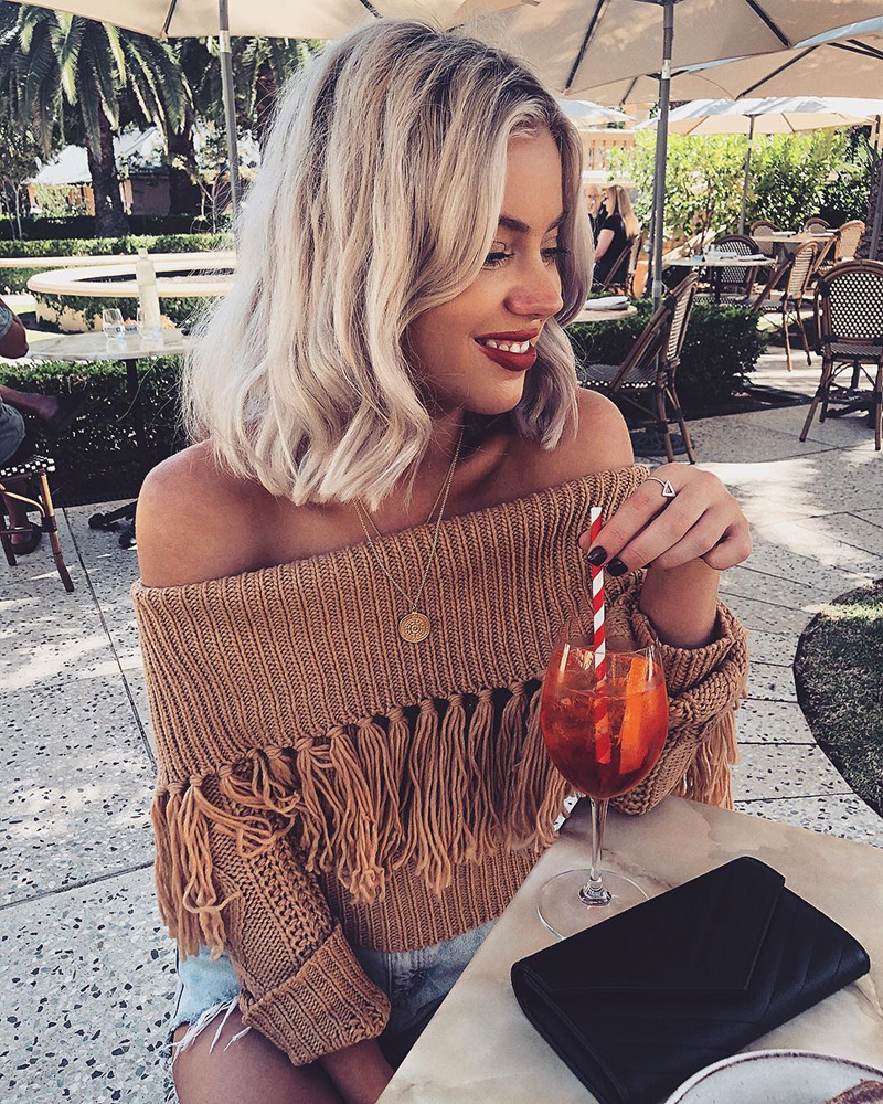 Off The Shoulder Sweater Women (7)