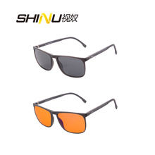SHINU Brand Sunglasses Women Men Polarized Sun Glasses Anti