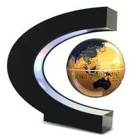 Material escolar levitação magnética globo globo flutuante magnético mapa do mundo recursos de ensino escritório em casa decoração da mesa 1pc