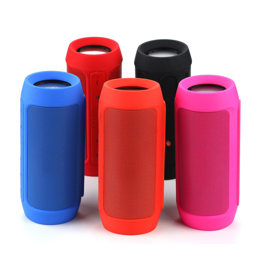 The Cheapest Price Portable Bluetooth Speaker System Wireless Waterproof Cylinder Sub Aux Input Red Audio Docks & Mini Speakers Portable Audio & Headphones