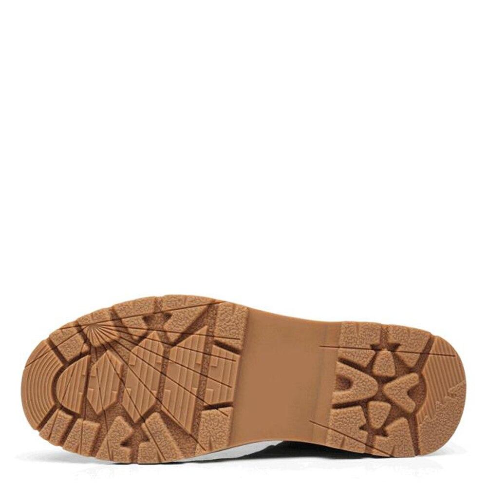 Qffaz Calçados Sapatas 2018 Homens Botas De Black Inverno Suede Bullock Até Couro brown Moda Sapatos Dos Ankle Vintage Rendas Do Boots green Outono FgwqnrfFx7