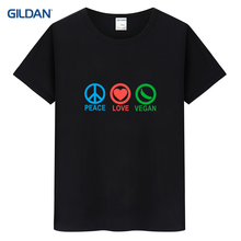 PEACE – LOVE – VEGAN t-shirt