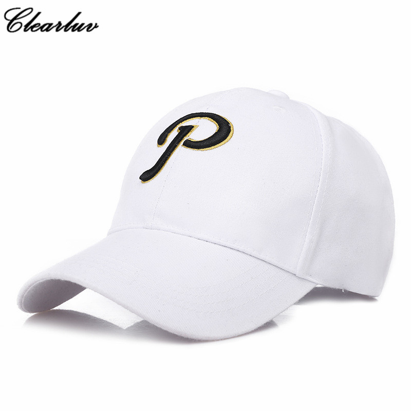 P Letter Embroidery Dad Hat Trucker   Cap   Snapback Men   Cap     Baseball     Caps   Bone masculino Hip Hop gorra beisbo Hats Touca streetwear