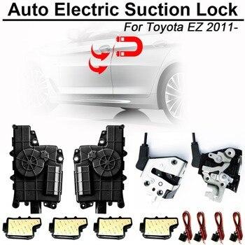 Carbar Smart Авто электрическое всасывание дверной замок для Toyota EZ 2011-Автоматическая Мягкая закрывающая дверь Супер тишина Автомобильная дверь ... >> CARBAR212616 Store