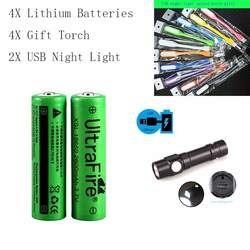 100% nuevo оригинальный XSL18650 3, 7V2600 mAh18650 bateria recargable de litio para Лас baterias la luz linterna де USB ночник