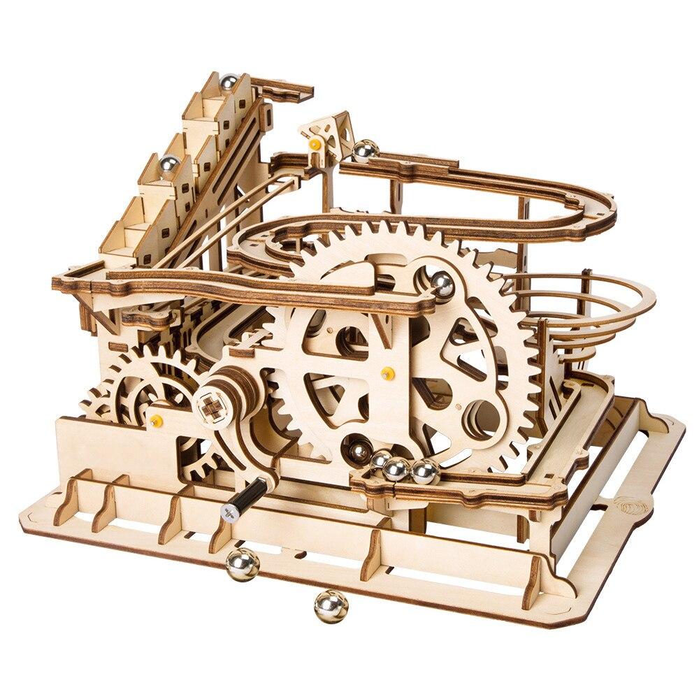 5 sortes jouets éducatifs jouets en bois Puzzles créatifs pour enfants bricolage Laser découpe 3D modèle mécanique en bois Puzzle jouet enfant cadeau