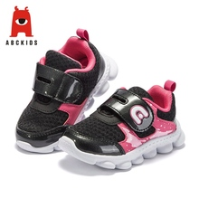 ABC KIDS Spring Baby Girl Breathable Anti-Slip Mixed Color Casual Walking Shoes Sneakers Soft Soled