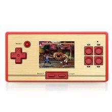 RS-20 venta caliente clásico retro 30 aniversario de videojuegos consola handheld del juego de los niños de 2.6 pulgadas de pantalla 600 juegos tv juego