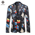 2016 Men Party Casual Blazers Formal Plus Size Bleiser Hombre Terno Masculino Men's Casual Fashion Slim Fit Long Sleeved Blazers