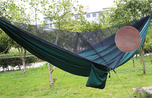 Hot Selling Camping Hammock Tent, CZD-037 Double Person with Mosquito Net tent,Parachute Fabric Tent