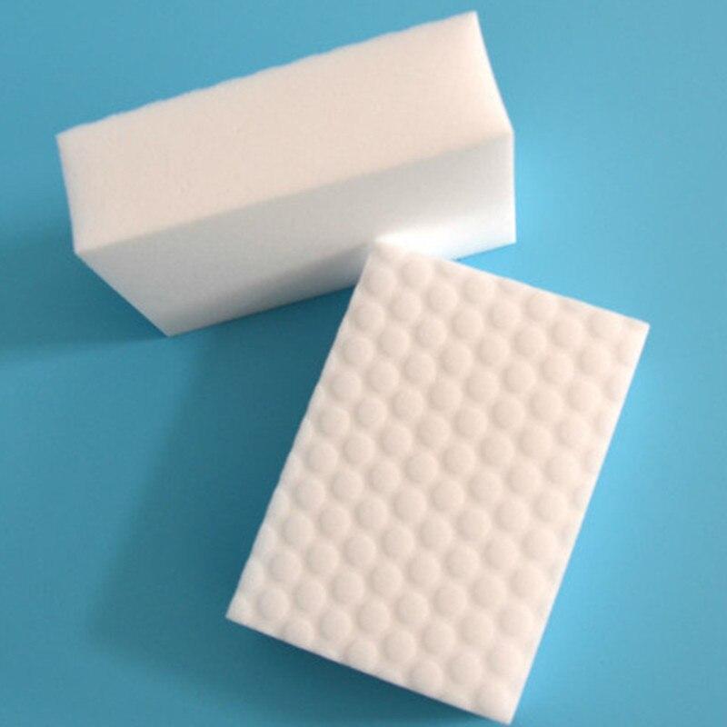 100 pçs/lote de Alta densidade Comprimido esponja nano Magia Esponja Eraser Melamina Cleaner, Limpeza de multi-funcional 100x60x20mm