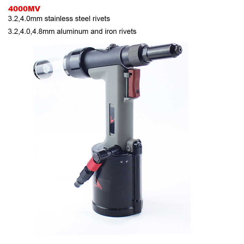 YOUSAILING High Quality Pneumatic Hydraulic Rivet Gun 3.2-4.8mm Vacuum Rivet Guns For Riveting 4.0mm Stainless Steel Rivets