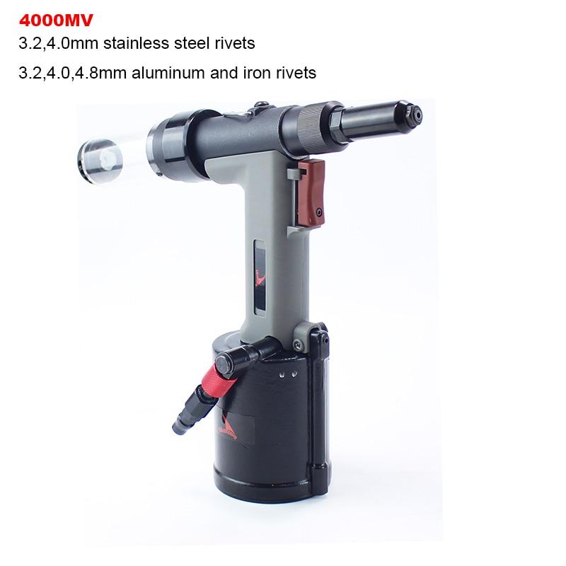 YOUSAILING High Quality Pneumatic Hydraulic Rivet Gun 3.2-4.8mm Vacuum Rivet Guns For Riveting 4.0mm Stainless Steel Rivets
